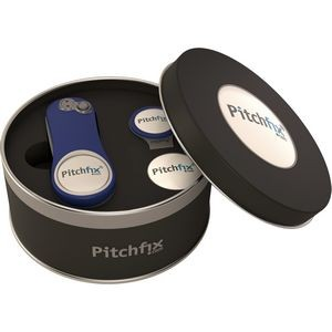 Pitchfix® XL 3.0 Golf Divot Repair Tool in Deluxe Gift Set w/Hat Clip